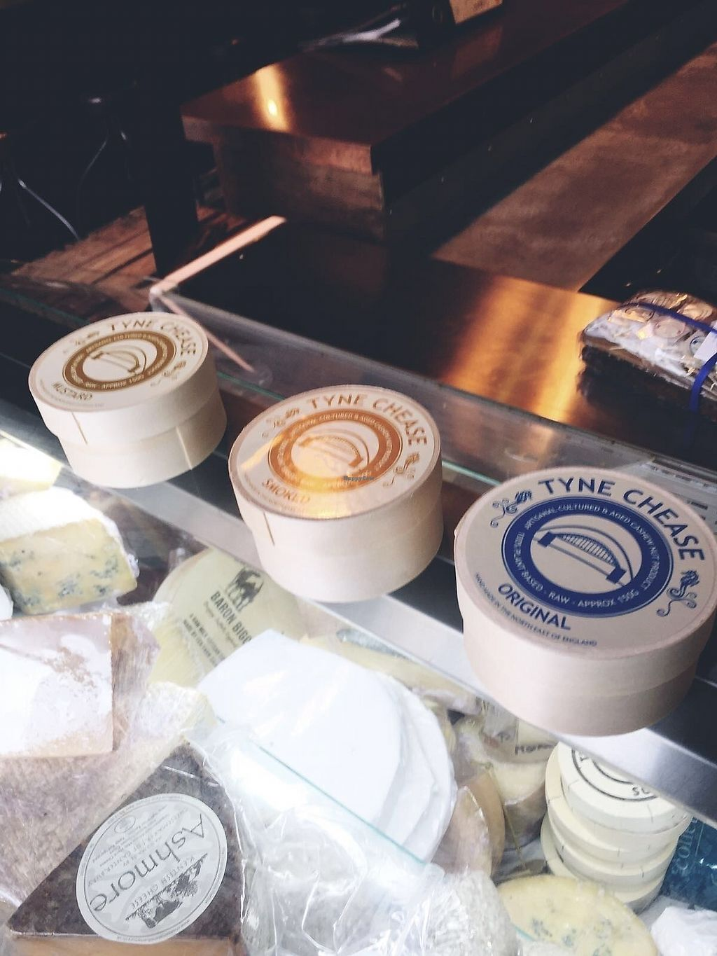 """Photo of The Cheese Room   by <a href=""""/members/profile/TARAMCDONALD"""">TARAMCDONALD</a> <br/>Collection of vegan artisan cheeses to buy in store by Tyne Chease <br/> August 24, 2017  - <a href='/contact/abuse/image/97648/296737'>Report</a>"""