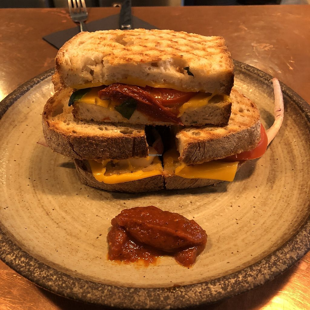"""Photo of The Cheese Room   by <a href=""""/members/profile/TARAMCDONALD"""">TARAMCDONALD</a> <br/>Delicious cheese toastie <br/> March 27, 2018  - <a href='/contact/abuse/image/97648/376848'>Report</a>"""