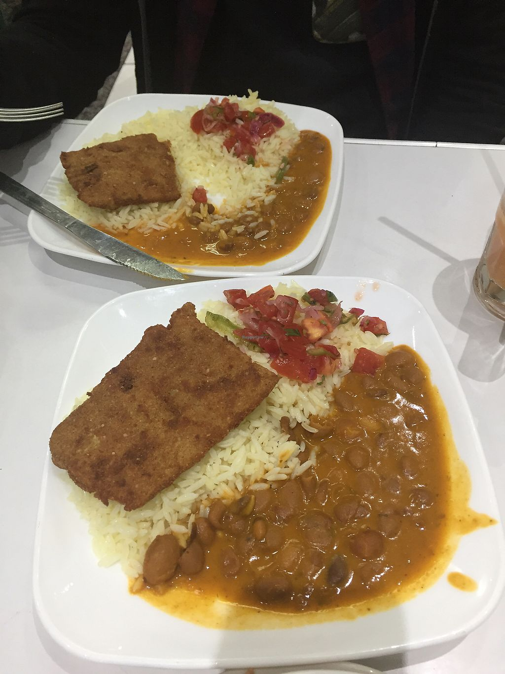 """Photo of Natural Vid Restaurante Vegetariano  by <a href=""""/members/profile/Dianebg"""">Dianebg</a> <br/>Soy meat, bean stew and rice  <br/> November 17, 2017  - <a href='/contact/abuse/image/97658/326422'>Report</a>"""