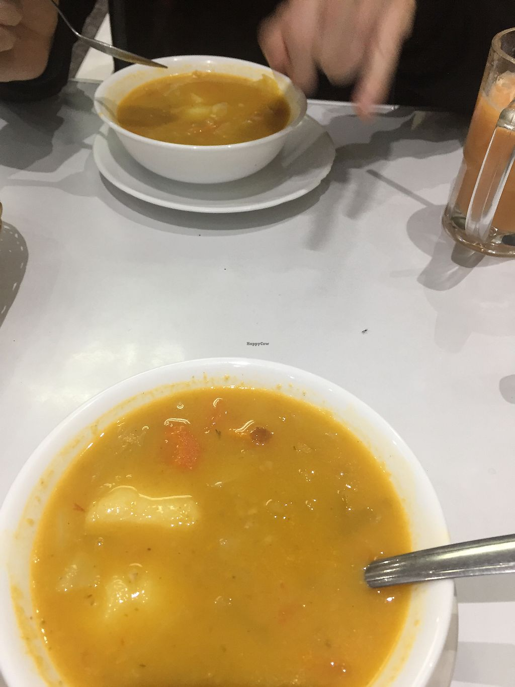 """Photo of Natural Vid Restaurante Vegetariano  by <a href=""""/members/profile/Dianebg"""">Dianebg</a> <br/>Soup of the day  <br/> November 17, 2017  - <a href='/contact/abuse/image/97658/326423'>Report</a>"""