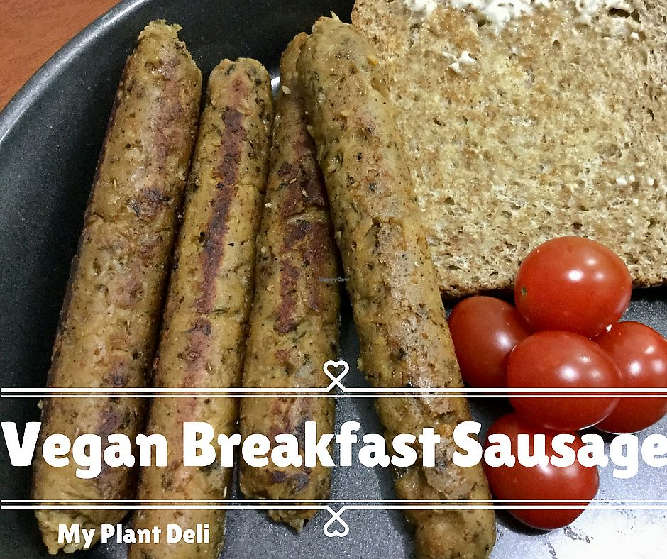 """Photo of My Plant Deli  by <a href=""""/members/profile/myplantdeli"""">myplantdeli</a> <br/>Delicious vegan breakfast sausage! <br/> October 25, 2017  - <a href='/contact/abuse/image/97685/318748'>Report</a>"""
