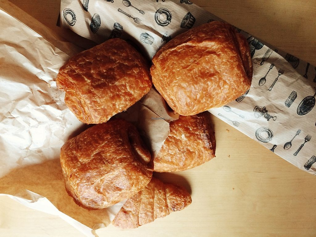 "Photo of La Maison Aux Pains  by <a href=""/members/profile/jenny_noisy"">jenny_noisy</a> <br/>Vegan croissants and french chocolate bread/chocolatine <br/> August 3, 2017  - <a href='/contact/abuse/image/97697/288193'>Report</a>"