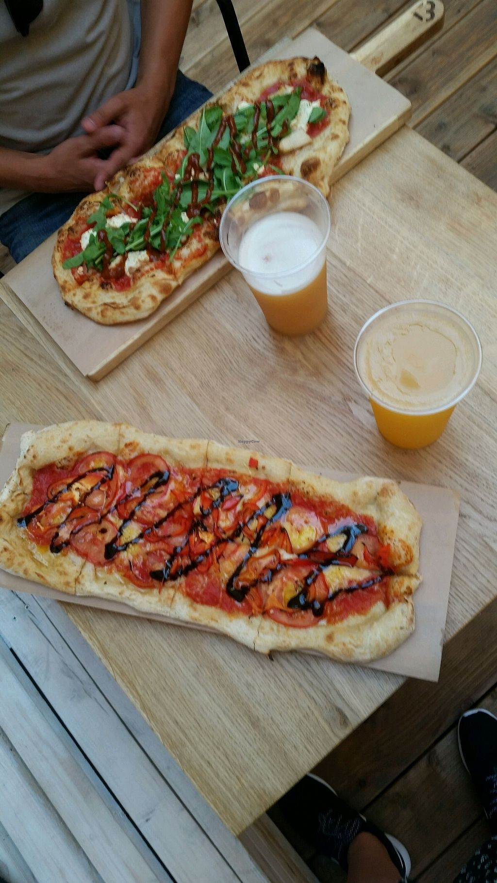 """Photo of Pizzatopia  by <a href=""""/members/profile/sharonalp25"""">sharonalp25</a> <br/>Pizzatopia Cracow: the one on the bottom is their vegan signature pizza I can recommend <br/> August 29, 2017  - <a href='/contact/abuse/image/97708/298710'>Report</a>"""