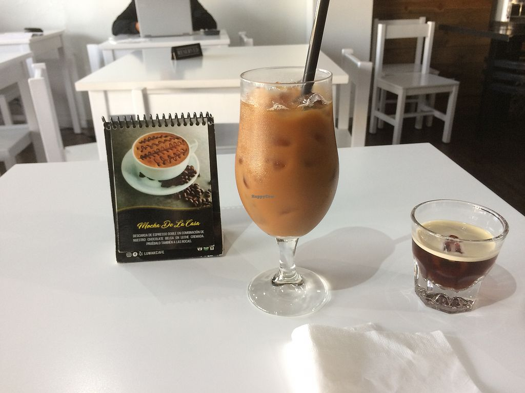 "Photo of Luwak Cafe  by <a href=""/members/profile/GlennGould"">GlennGould</a> <br/>Cold brew coffee with soy milk and nitro coffee <br/> March 6, 2018  - <a href='/contact/abuse/image/97722/367272'>Report</a>"