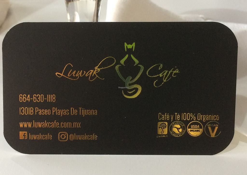 "Photo of Luwak Cafe  by <a href=""/members/profile/GlennGould"">GlennGould</a> <br/>Business Card <br/> March 6, 2018  - <a href='/contact/abuse/image/97722/367273'>Report</a>"