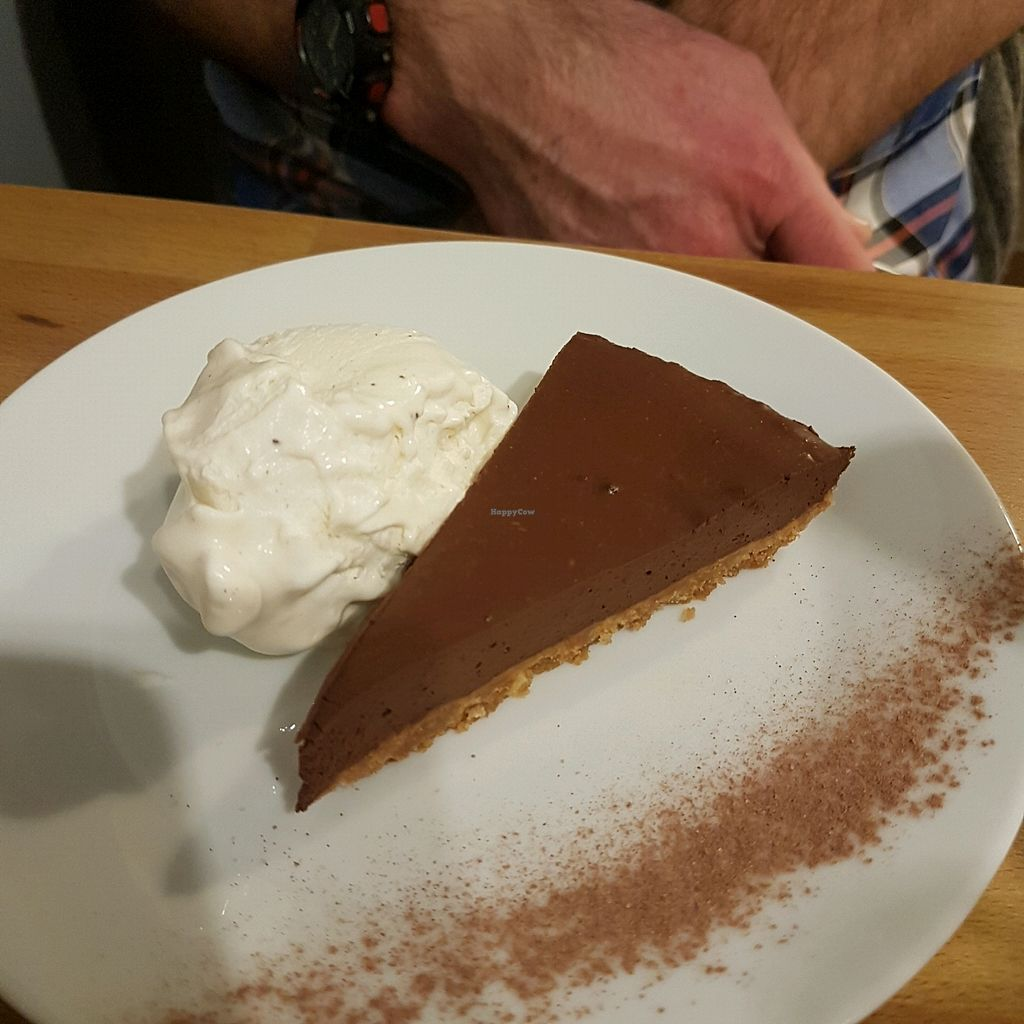 """Photo of Potato Tomato - The Eatery  by <a href=""""/members/profile/LucySamways"""">LucySamways</a> <br/>Chocolate and ginger torte  <br/> November 26, 2017  - <a href='/contact/abuse/image/97735/329488'>Report</a>"""
