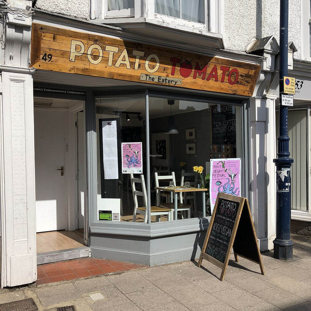 """Photo of Potato Tomato - The Eatery  by <a href=""""/members/profile/TARAMCDONALD"""">TARAMCDONALD</a> <br/>Exterior of eatery <br/> April 22, 2018  - <a href='/contact/abuse/image/97735/389469'>Report</a>"""