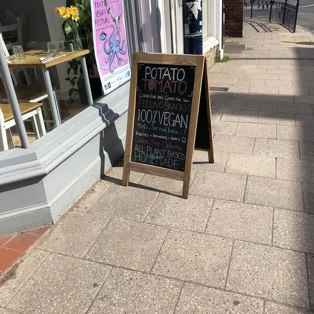 """Photo of Potato Tomato - The Eatery  by <a href=""""/members/profile/TARAMCDONALD"""">TARAMCDONALD</a> <br/>Daily specials  <br/> April 22, 2018  - <a href='/contact/abuse/image/97735/389470'>Report</a>"""