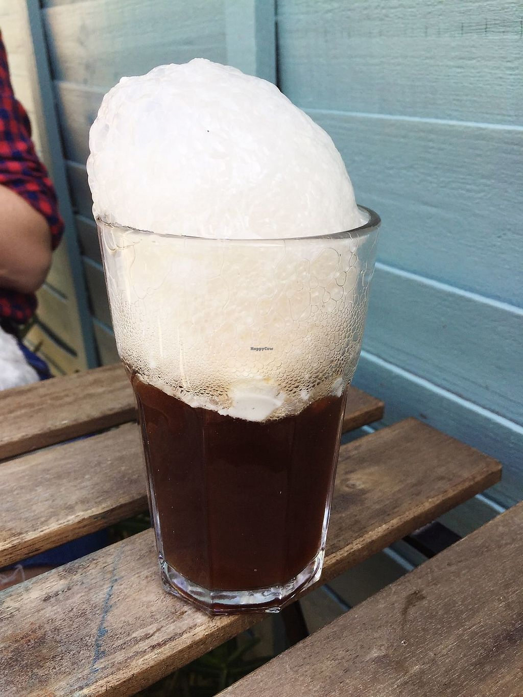 """Photo of Potato Tomato - The Eatery  by <a href=""""/members/profile/TARAMCDONALD"""">TARAMCDONALD</a> <br/>Sooo good on a hot day! Coke float with vegan ice cream! Yum! <br/> April 22, 2018  - <a href='/contact/abuse/image/97735/389478'>Report</a>"""