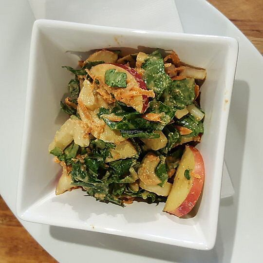 """Photo of Janna's Gallery Cafe  by <a href=""""/members/profile/ChristinaLabont%C3%A9"""">ChristinaLabonté</a> <br/>apple bok choy vegan salad <br/> August 3, 2017  - <a href='/contact/abuse/image/97737/288117'>Report</a>"""