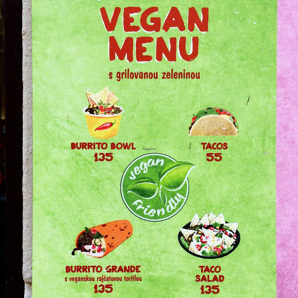 """Photo of Burrito Loco -Vitezna   by <a href=""""/members/profile/kaffeekanna"""">kaffeekanna</a> <br/>Veganes Angebot bei Burrito Loco <br/> October 24, 2017  - <a href='/contact/abuse/image/97764/318305'>Report</a>"""