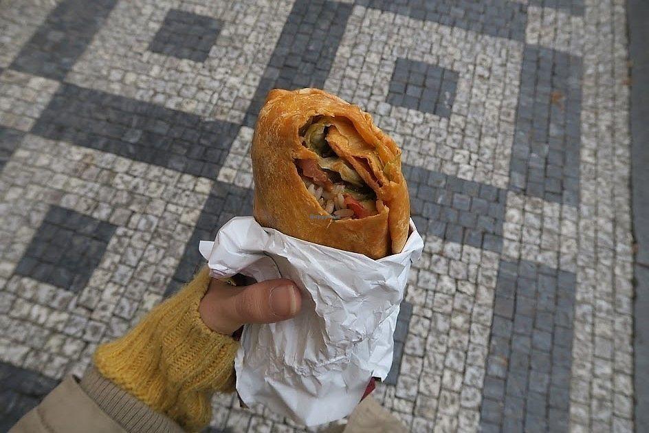 "Photo of Burrito Loco -Vitezna   by <a href=""/members/profile/Nikolate"">Nikolate</a> <br/>burrito with vegan wrap <br/> November 27, 2017  - <a href='/contact/abuse/image/97764/329655'>Report</a>"