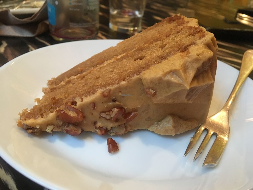 """Photo of Fat Rabbit  by <a href=""""/members/profile/ChelseyEllis"""">ChelseyEllis</a> <br/>Coffee and pecan cake  <br/> February 3, 2018  - <a href='/contact/abuse/image/97771/354543'>Report</a>"""