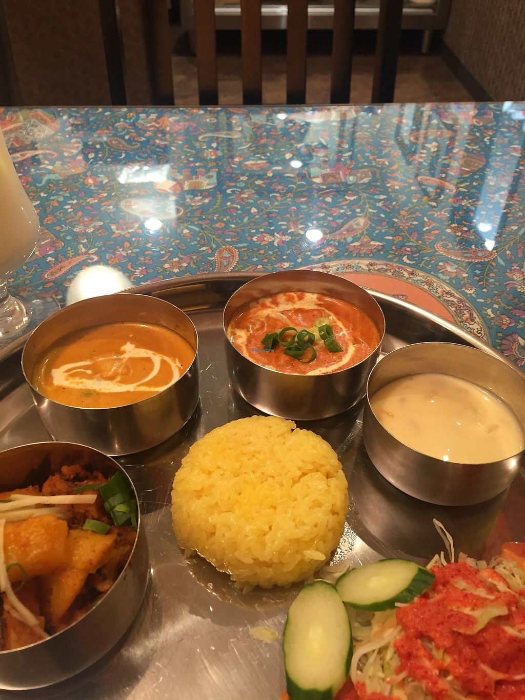 "Photo of Tandoor Indian Restaurant  by <a href=""/members/profile/Vegeiko"">Vegeiko</a> <br/>Vegetarian set <br/> August 4, 2017  - <a href='/contact/abuse/image/97772/288819'>Report</a>"