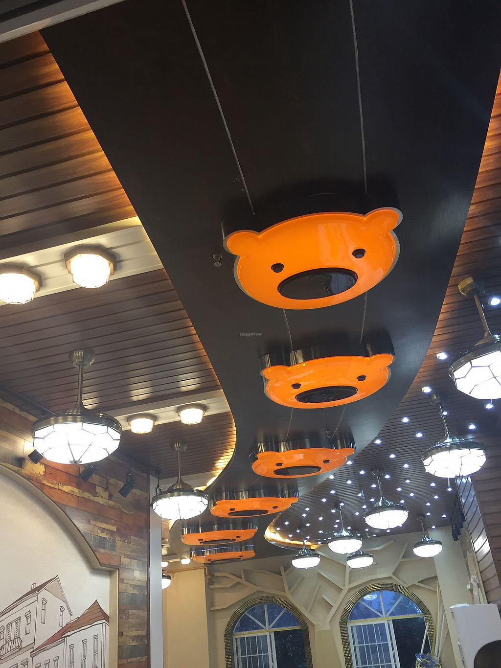 """Photo of Nick Bear  by <a href=""""/members/profile/H2OAddict"""">H2OAddict</a> <br/>Logo light fixtures in the new expansion room! <br/> August 5, 2017  - <a href='/contact/abuse/image/97773/288870'>Report</a>"""