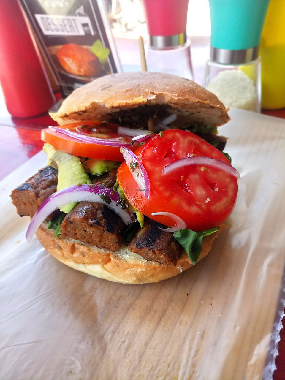 "Photo of Roraima Burgers  by <a href=""/members/profile/Kukiaries"">Kukiaries</a> <br/>Nueva! Soy chorizo <br/> April 6, 2018  - <a href='/contact/abuse/image/97800/381687'>Report</a>"