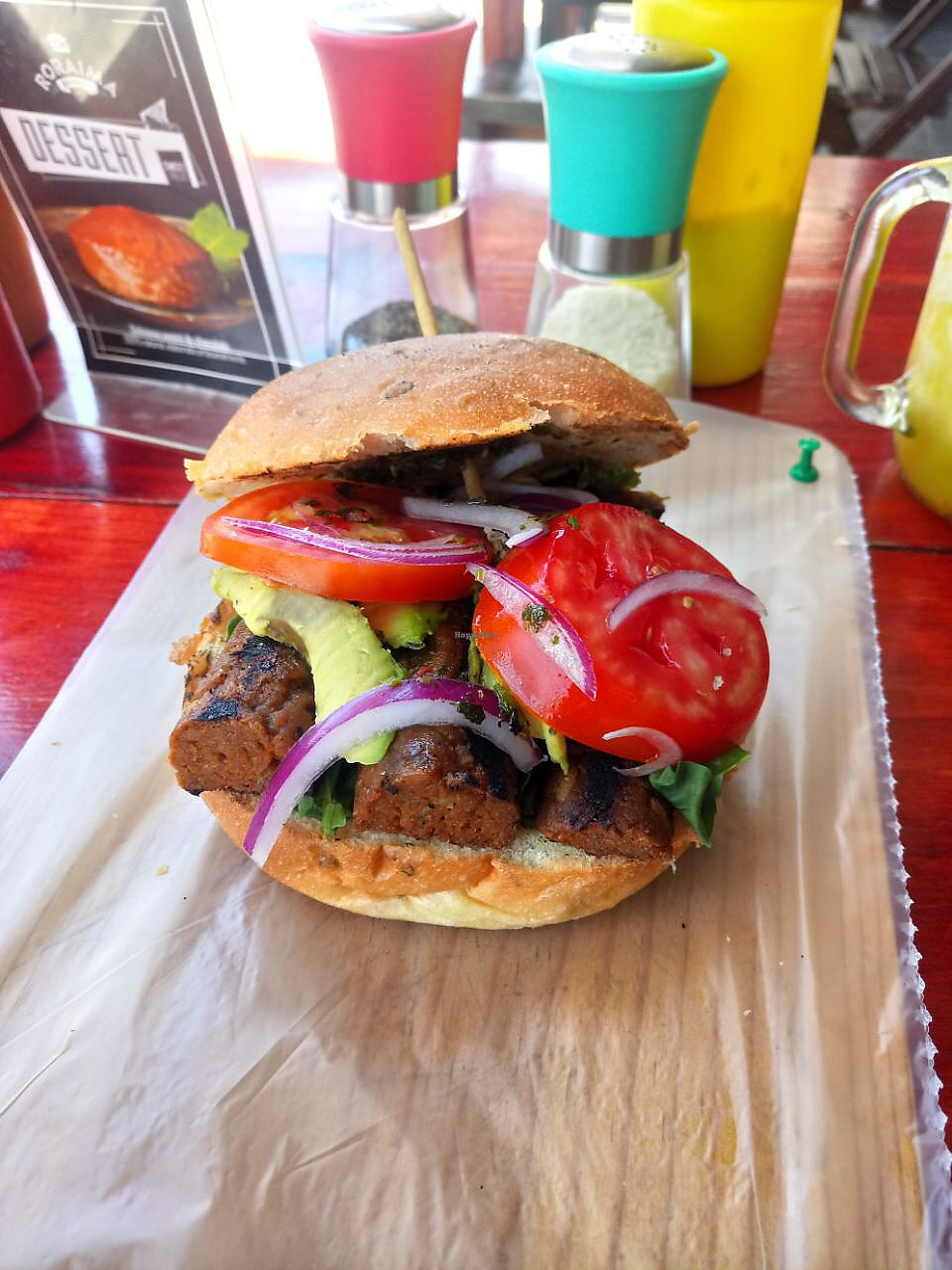 "Photo of Roraima Burgers  by <a href=""/members/profile/Kukiaries"">Kukiaries</a> <br/>Nueva! Soy chorizo <br/> April 6, 2018  - <a href='/contact/abuse/image/97800/381688'>Report</a>"