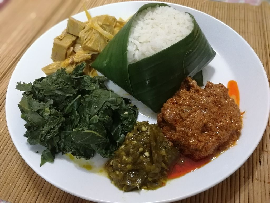 """Photo of Pranita Rasa Vegetarian  by <a href=""""/members/profile/HorichAlexandre"""">HorichAlexandre</a> <br/>nasi padang <br/> August 18, 2017  - <a href='/contact/abuse/image/97821/293879'>Report</a>"""