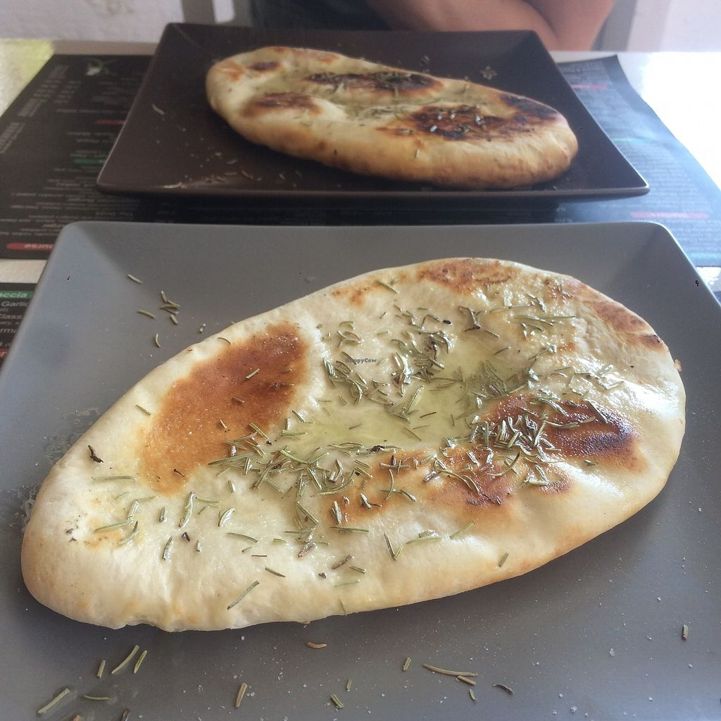 """Photo of Antonio Pizza & Pasta  by <a href=""""/members/profile/audmarlen"""">audmarlen</a> <br/>Great focaccia bread <br/> August 5, 2017  - <a href='/contact/abuse/image/97845/289059'>Report</a>"""