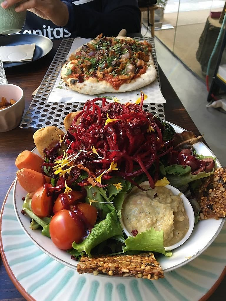 """Photo of Superchulo  by <a href=""""/members/profile/sian_ractliffe"""">sian_ractliffe</a> <br/>delicious giant salad with dry falafel November 2017 <br/> March 13, 2018  - <a href='/contact/abuse/image/97861/370265'>Report</a>"""
