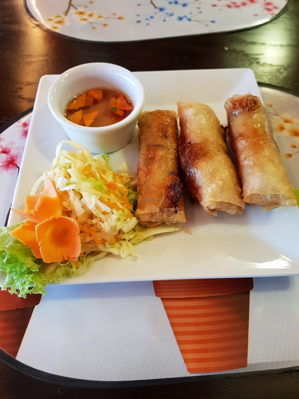 "Photo of Q&B Restauracja  by <a href=""/members/profile/Mirage"">Mirage</a> <br/>spring rolls <br/> August 4, 2017  - <a href='/contact/abuse/image/97871/288767'>Report</a>"