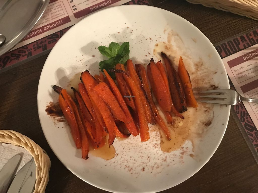 "Photo of Propaganda   by <a href=""/members/profile/HappySami"">HappySami</a> <br/>Glazed carrots <br/> August 8, 2017  - <a href='/contact/abuse/image/97873/290477'>Report</a>"