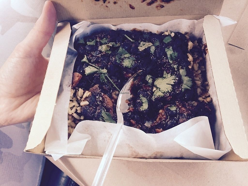 """Photo of LEON  by <a href=""""/members/profile/TARAMCDONALD"""">TARAMCDONALD</a> <br/>Black beans with brown rice - yummy! <br/> August 5, 2017  - <a href='/contact/abuse/image/97884/289321'>Report</a>"""