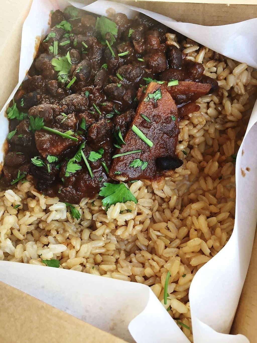 """Photo of LEON  by <a href=""""/members/profile/TARAMCDONALD"""">TARAMCDONALD</a> <br/>Black beans and rice on the go!! <br/> November 30, 2017  - <a href='/contact/abuse/image/97884/330825'>Report</a>"""