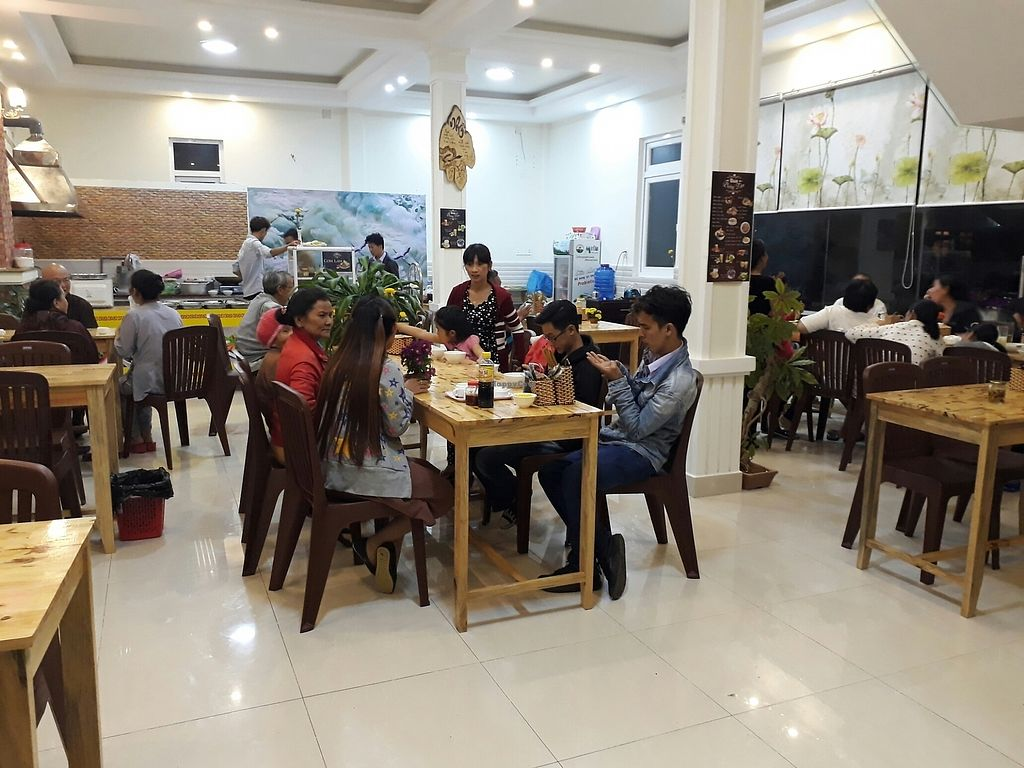 """Photo of Chay Duong Tam - maybe closed  by <a href=""""/members/profile/Chibinomi"""">Chibinomi</a> <br/>Having dinner at Duong Tam vegetarian restaurant <br/> August 5, 2017  - <a href='/contact/abuse/image/97902/288967'>Report</a>"""