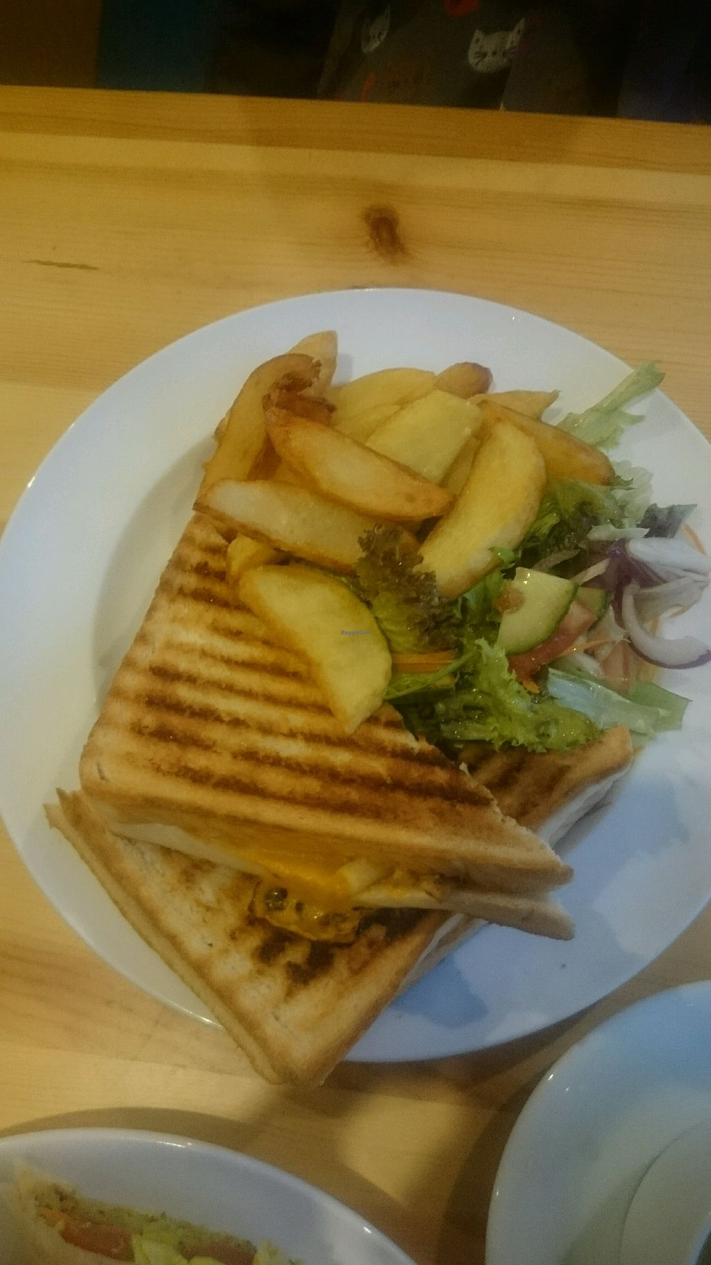 """Photo of The Willow Tree Cafe  by <a href=""""/members/profile/Cstorr64"""">Cstorr64</a> <br/>mac n 'cheese' toastie  <br/> January 1, 2018  - <a href='/contact/abuse/image/97937/341627'>Report</a>"""