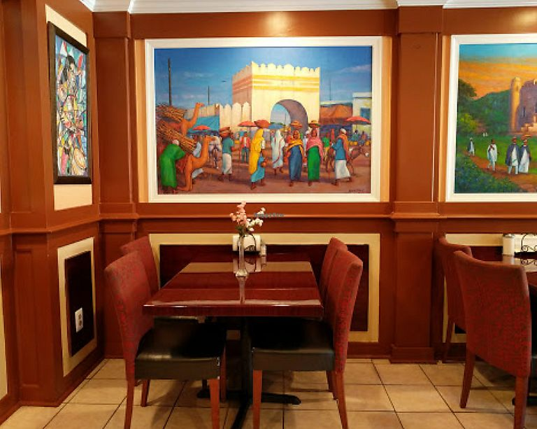 """Photo of Dama Ethiopian Restaurant Pastry and Cafe  by <a href=""""/members/profile/community5"""">community5</a> <br/>Dama Ethiopian <br/> August 5, 2017  - <a href='/contact/abuse/image/97938/289434'>Report</a>"""