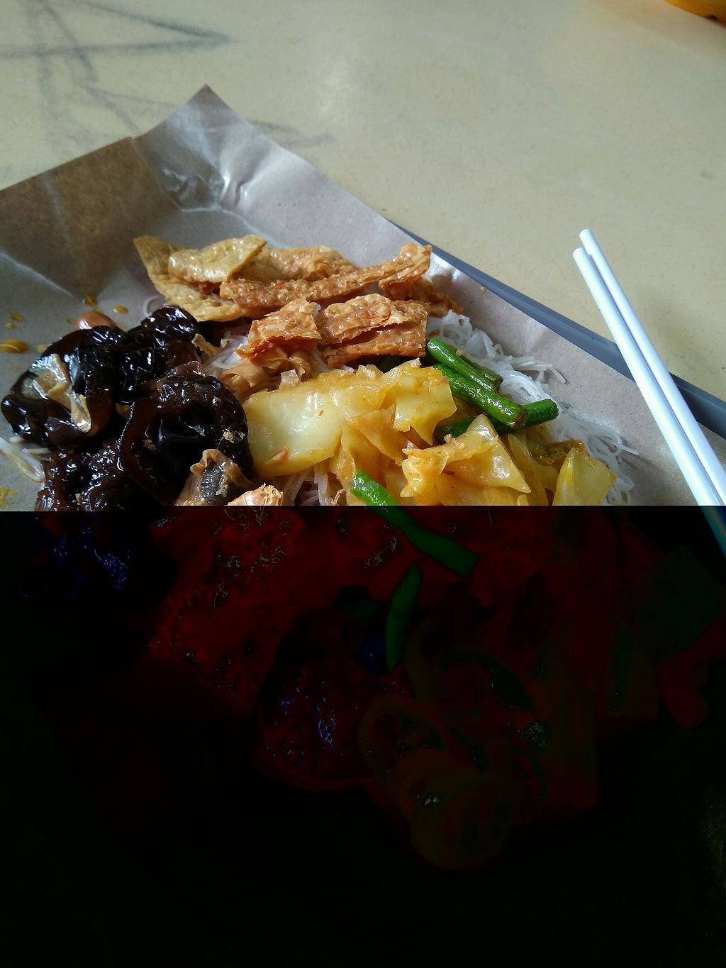 """Photo of CLOSED: Crystal Vegetarian - Blk 408 AMK  by <a href=""""/members/profile/AdelOng"""" class=""""title__title"""">AdelOng</a> <br/>3 items with mee hoon @$3 <br/> February 12, 2018  - <a href='/contact/abuse/image/97942/358157'>Report</a>"""