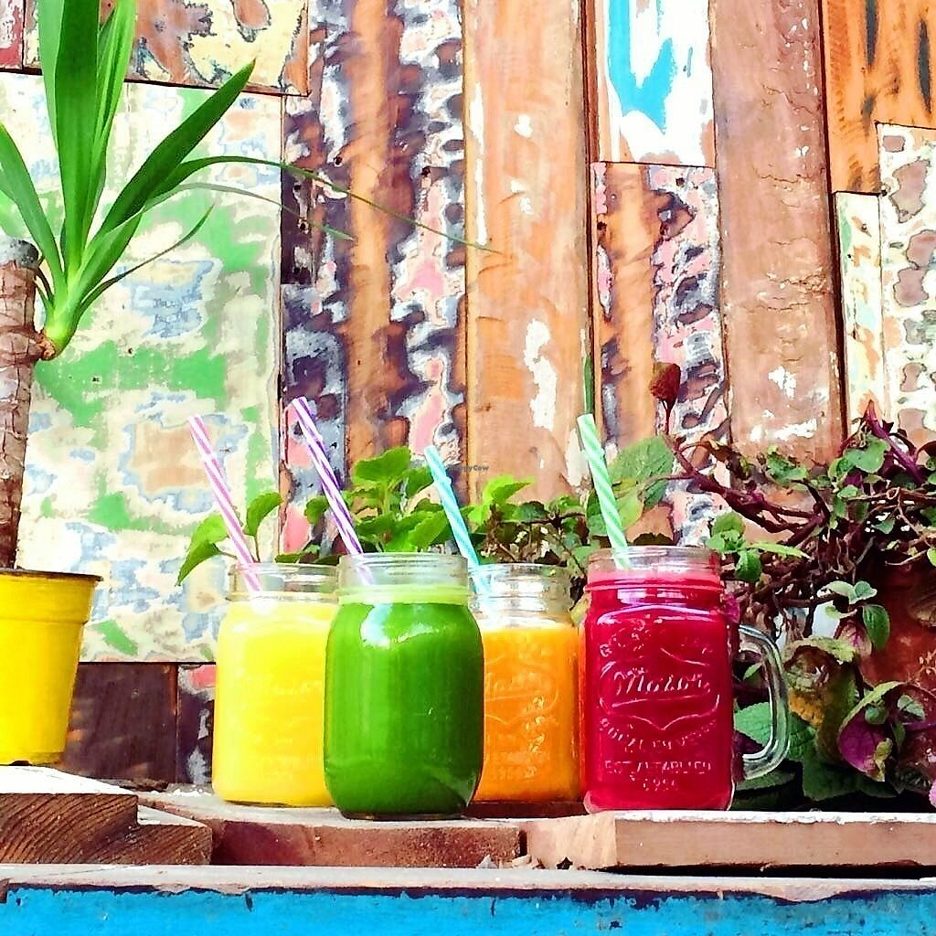 """Photo of Cafe Bali  by <a href=""""/members/profile/KarlaMalukSpahie"""">KarlaMalukSpahie</a> <br/>Cold pressed Juice  <br/> August 5, 2017  - <a href='/contact/abuse/image/97943/289285'>Report</a>"""