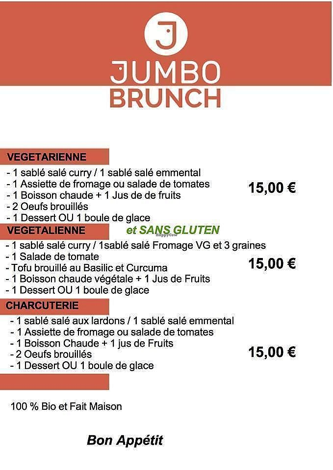 """Photo of Jumbo   by <a href=""""/members/profile/community5"""">community5</a> <br/>Brunch menu <br/> August 5, 2017  - <a href='/contact/abuse/image/97964/289456'>Report</a>"""