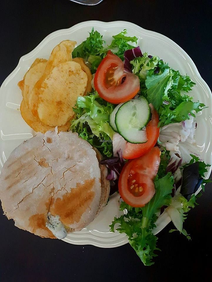 "Photo of Himalaya  by <a href=""/members/profile/community5"">community5</a> <br/>Vegan burger, vegan mayonnaise with herbs, organic bread, potatoes and salad <br/> August 7, 2017  - <a href='/contact/abuse/image/97968/290048'>Report</a>"