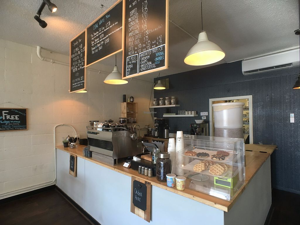 """Photo of Proust Coffee  by <a href=""""/members/profile/vanofvegan"""">vanofvegan</a> <br/>The counter - coffee & waffles :) <br/> August 20, 2017  - <a href='/contact/abuse/image/97975/294820'>Report</a>"""