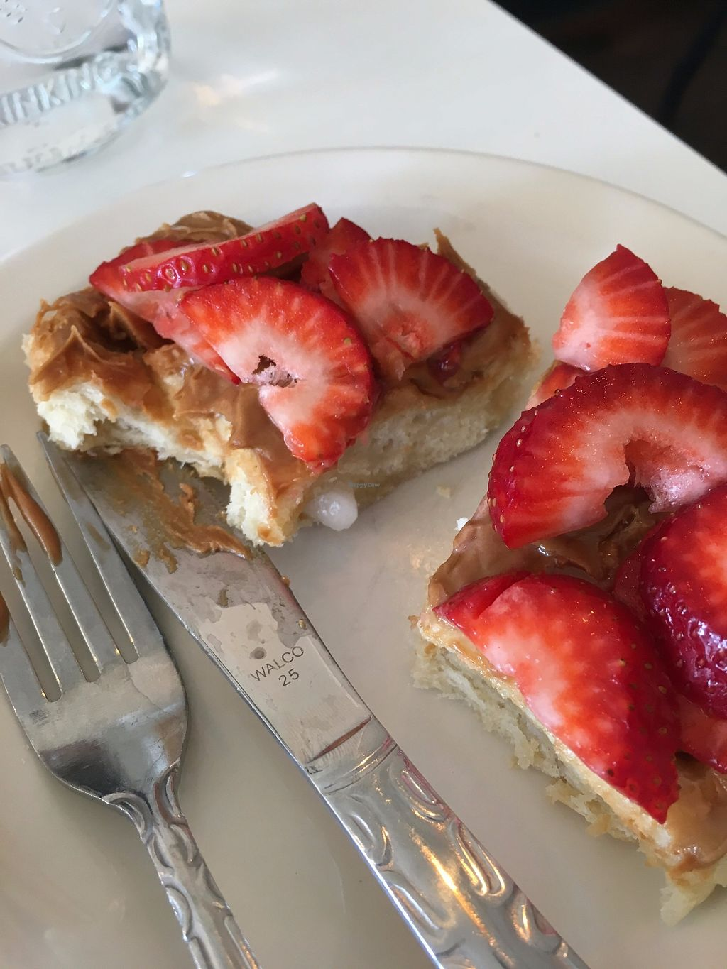 """Photo of Proust Coffee  by <a href=""""/members/profile/vanofvegan"""">vanofvegan</a> <br/>The waffles have such an amazing texture, they're crunchy on the inside. So good!! <br/> August 20, 2017  - <a href='/contact/abuse/image/97975/294826'>Report</a>"""