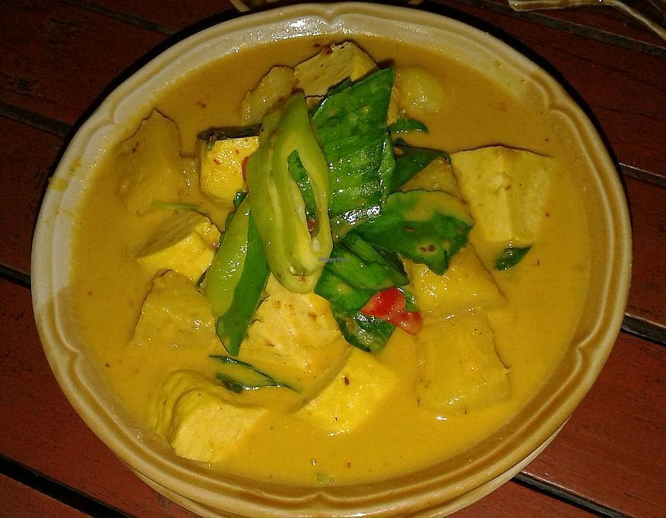 "Photo of Jo Restaurant  by <a href=""/members/profile/Audreystl"">Audreystl</a> <br/>Red coconut milk curry with tofu and vegetables.