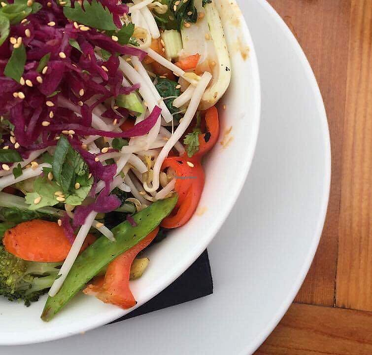 """Photo of Shelter Restaurant  by <a href=""""/members/profile/VeggieFromSpace"""">VeggieFromSpace</a> <br/>vegan surf bowl <br/> August 7, 2017  - <a href='/contact/abuse/image/97991/289974'>Report</a>"""