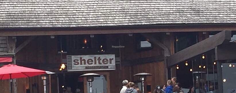 """Photo of Shelter Restaurant  by <a href=""""/members/profile/VeggieFromSpace"""">VeggieFromSpace</a> <br/>exterior  <br/> August 7, 2017  - <a href='/contact/abuse/image/97991/289986'>Report</a>"""