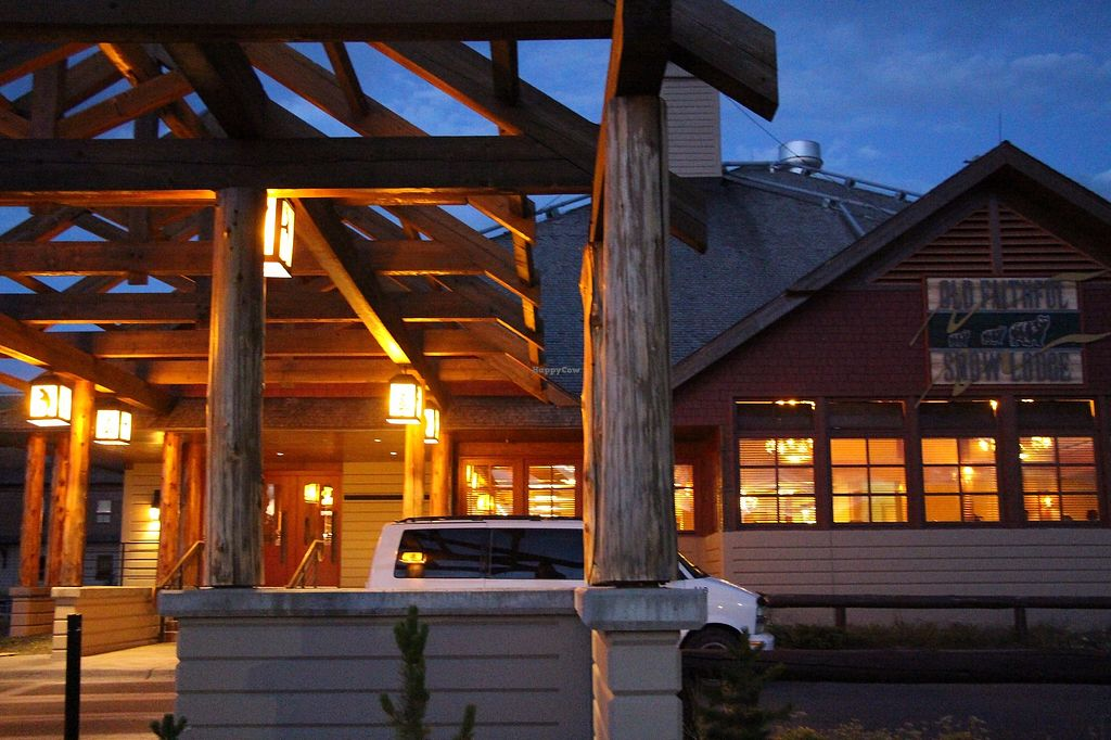 """Photo of Old Faithful Snow Lodge Obsidian Dining Room  by <a href=""""/members/profile/Drhannahj"""">Drhannahj</a> <br/>Old Faithful Snow Lodge Obsidian Dining Room <br/> August 21, 2017  - <a href='/contact/abuse/image/98015/294997'>Report</a>"""