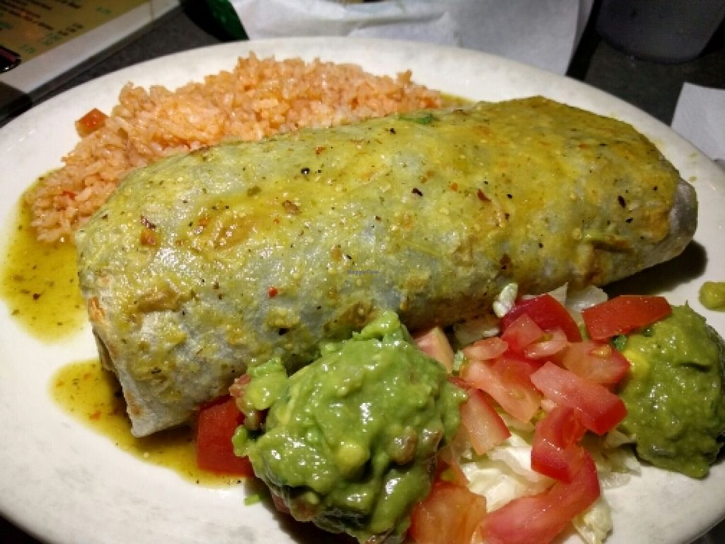 "Photo of Cocorenos  by <a href=""/members/profile/The%20Hungry%20Vegan"">The Hungry Vegan</a> <br/>Deluxe Veggie Burrito, Vegan Style <br/> June 1, 2016  - <a href='/contact/abuse/image/9802/151693'>Report</a>"
