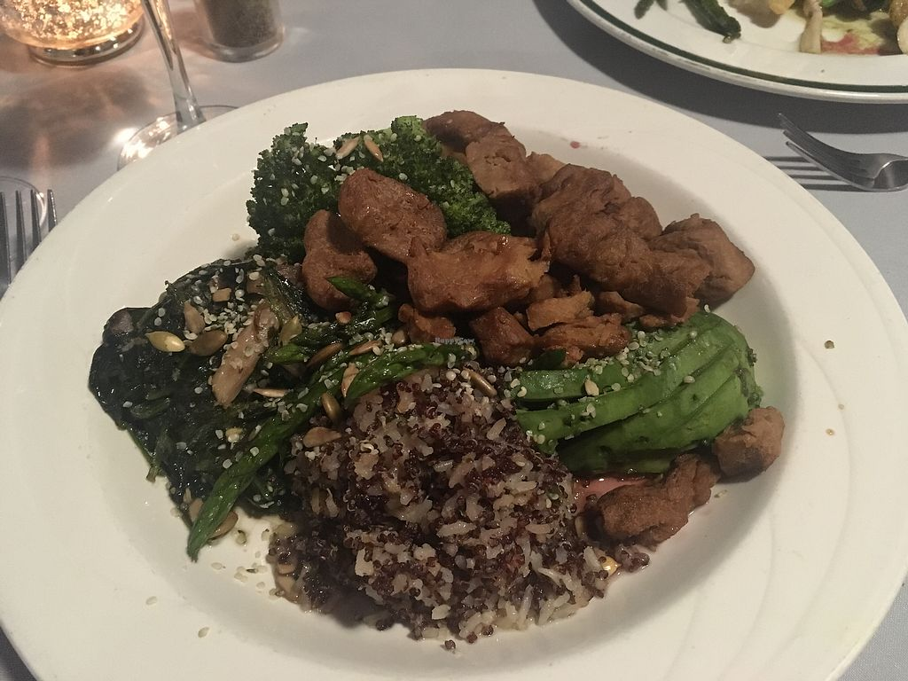 """Photo of Aleathea's Restaurant  by <a href=""""/members/profile/Philhower"""">Philhower</a> <br/>vegan Buddha bowls <br/> August 7, 2017  - <a href='/contact/abuse/image/98041/290230'>Report</a>"""