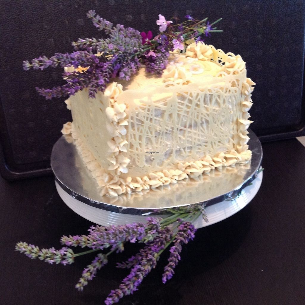 """Photo of Vegangela Rose Cakes  by <a href=""""/members/profile/AngelaFeane"""">AngelaFeane</a> <br/>Salted caramel banoffee cake <br/> September 7, 2017  - <a href='/contact/abuse/image/98113/301783'>Report</a>"""