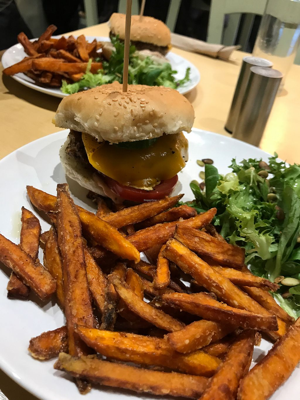 "Photo of Cafe Thrive  by <a href=""/members/profile/AnaBanannaPancake"">AnaBanannaPancake</a> <br/>The 'meaty' burger <br/> November 11, 2017  - <a href='/contact/abuse/image/98116/324199'>Report</a>"