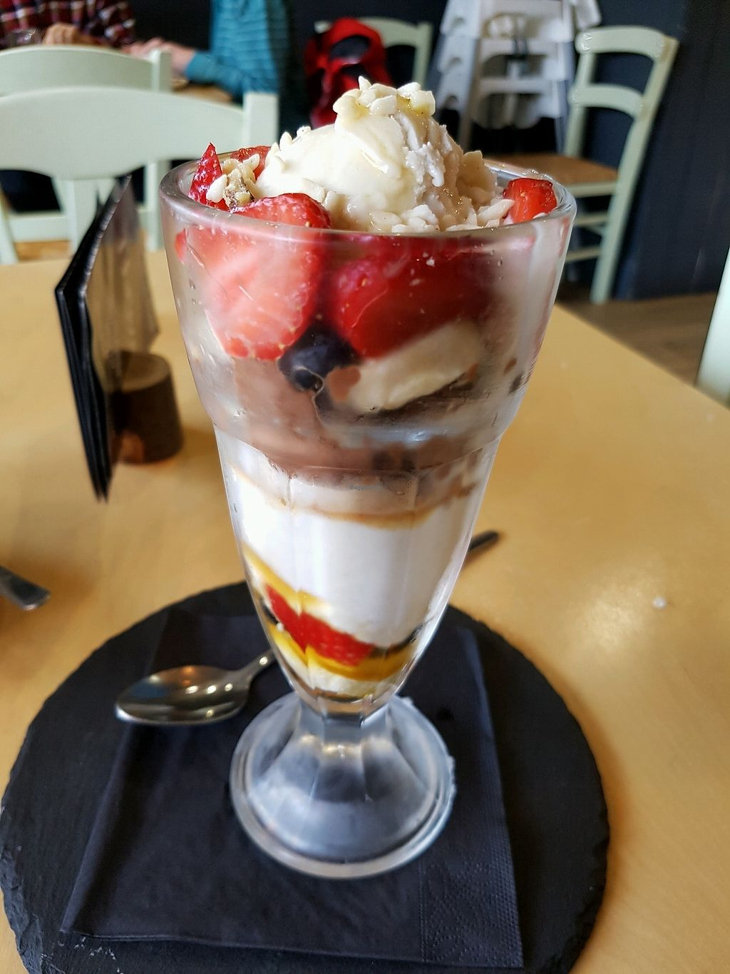 "Photo of Cafe Thrive  by <a href=""/members/profile/Rachaelm"">Rachaelm</a> <br/>refined sugar free sundae <br/> February 15, 2018  - <a href='/contact/abuse/image/98116/359604'>Report</a>"