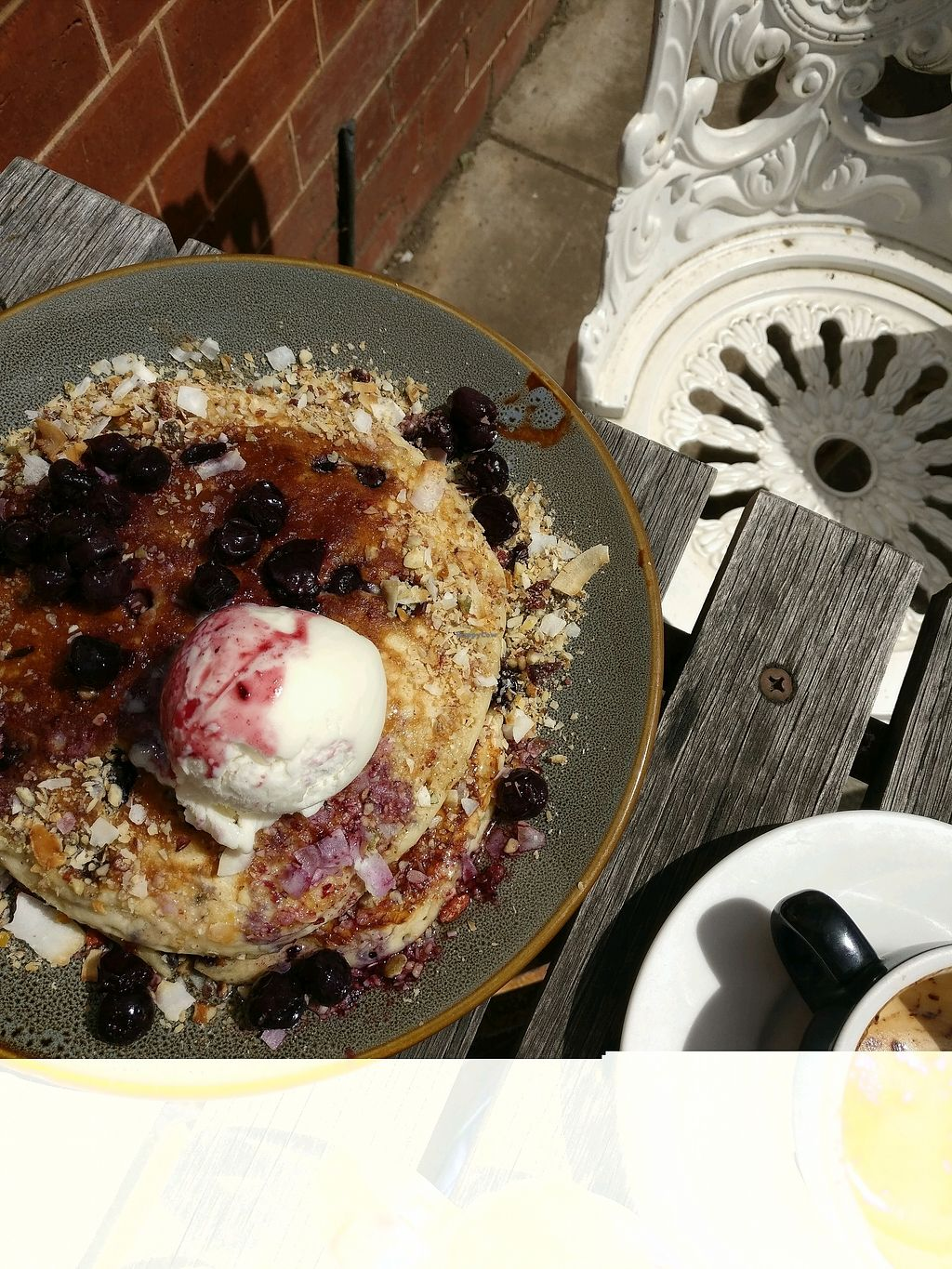 """Photo of Little Lucky Cafe  by <a href=""""/members/profile/Aloo"""">Aloo</a> <br/>blueberry pancakes <br/> January 14, 2018  - <a href='/contact/abuse/image/98118/346321'>Report</a>"""