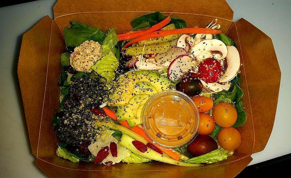 """Photo of In the Raw - Food Truck  by <a href=""""/members/profile/IntheRawTestKitchen"""">IntheRawTestKitchen</a> <br/>Buddha Bowl <br/> August 22, 2017  - <a href='/contact/abuse/image/98129/295998'>Report</a>"""