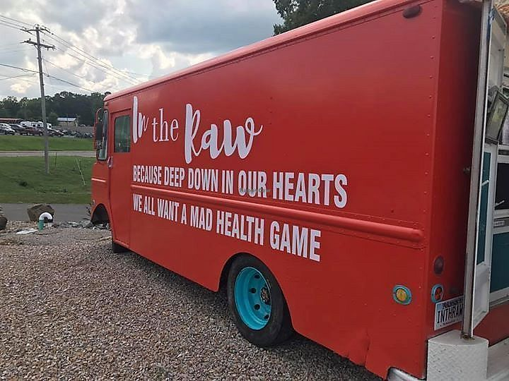 """Photo of In the Raw - Food Truck  by <a href=""""/members/profile/IntheRawTestKitchen"""">IntheRawTestKitchen</a> <br/>Our '67 """"Grubman"""" <br/> August 22, 2017  - <a href='/contact/abuse/image/98129/296002'>Report</a>"""