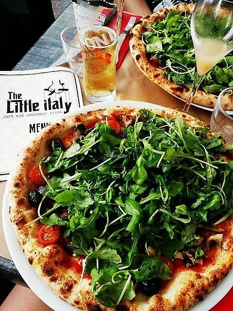"""Photo of The Little Italy    by <a href=""""/members/profile/BlisterBlue"""">BlisterBlue</a> <br/>Vegan pizza <br/> September 23, 2017  - <a href='/contact/abuse/image/98155/307518'>Report</a>"""